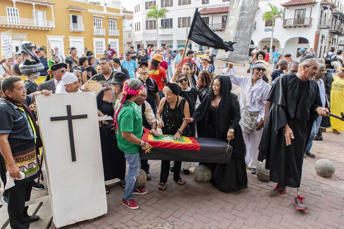 Getsemaní no dejó enterrar su cabildo