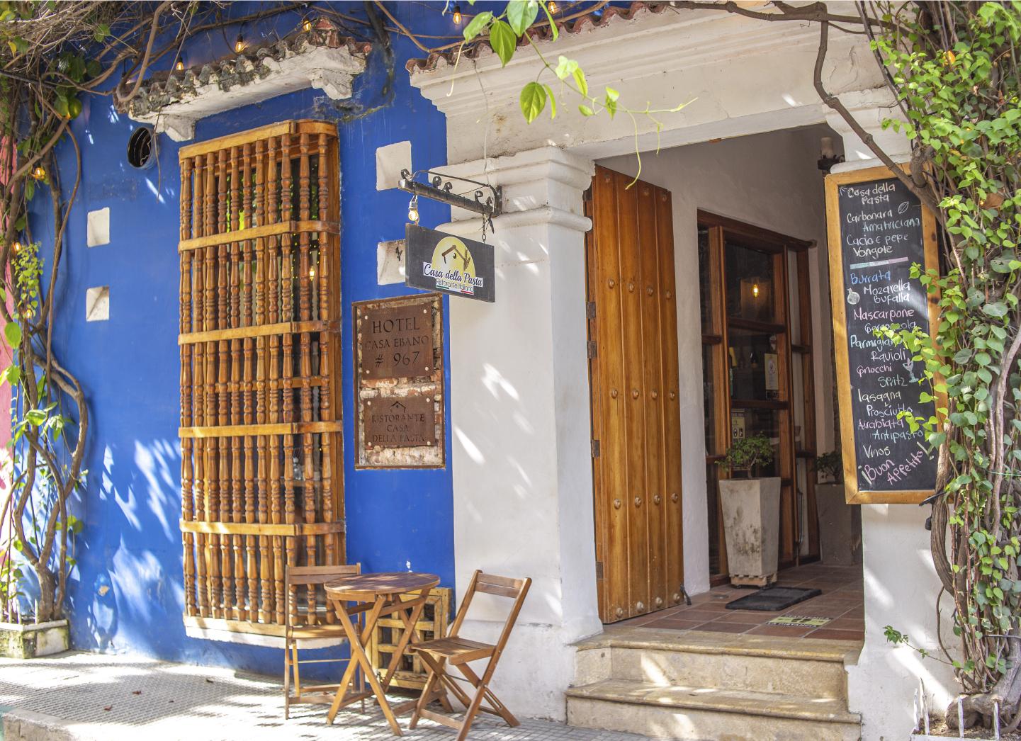 Casa della Pasta, Italia en Getsemaní